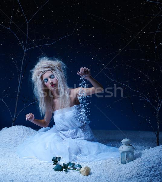 frozen fairy Stock photo © zastavkin
