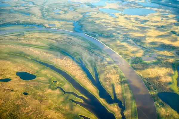北 風景 水 風景 背景 ストックフォト © zastavkin