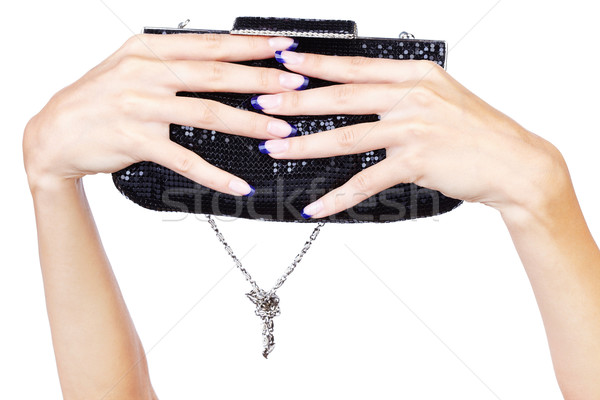 hands with clutch Stock photo © zastavkin