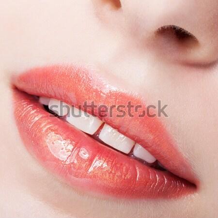 Filles maquillage portrait jeunes belle Photo stock © zastavkin