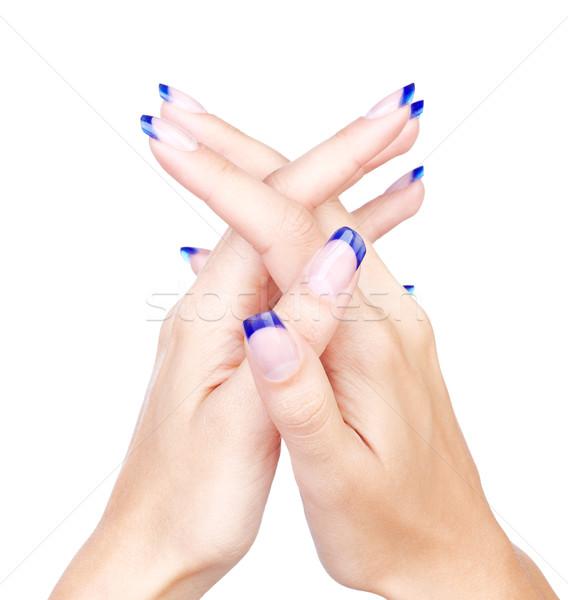 healthy hands Stock photo © zastavkin