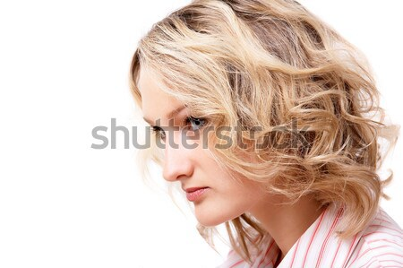 Portrait of blonde girl Stock photo © zastavkin