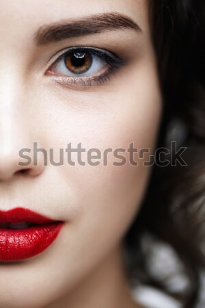 beautiful girl Stock photo © zastavkin