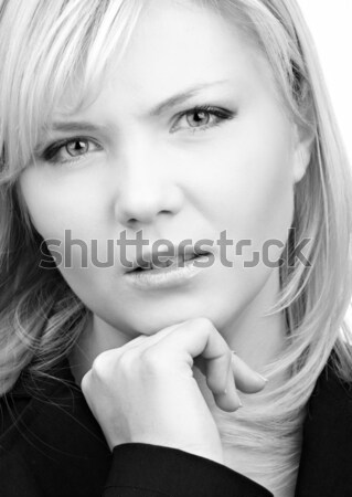 worried girl Stock photo © zastavkin
