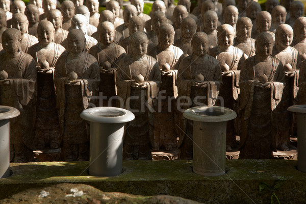 каменные азиатских статуя Азии религиозных скульптуры Сток-фото © zastavkin