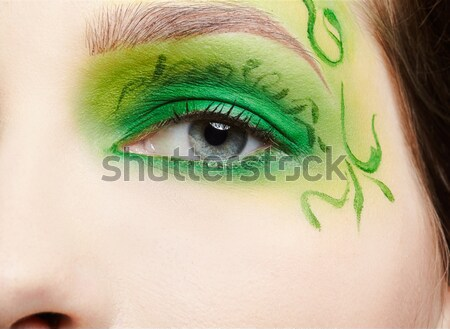 beautiful young woman Stock photo © zastavkin