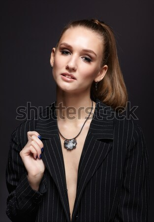 beautiful woman Stock photo © zastavkin