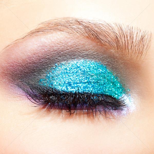 Сток-фото: женщины · глаза · макияж · выстрел · молодые