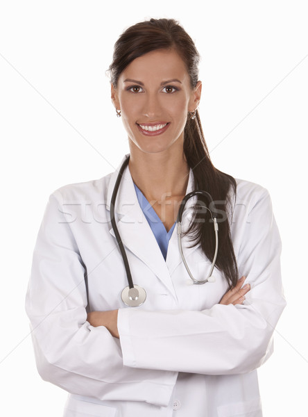 female doctor Stock photo © zdenkam