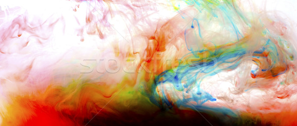 colorful liquid art Stock photo © zdenkam