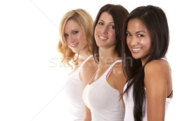 group of casual women Stock photo © zdenkam
