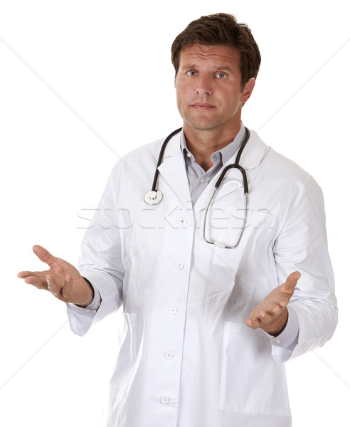doctor giving bad news Stock photo © zdenkam