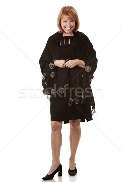 upscale mature woman Stock photo © zdenkam