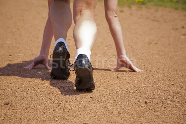 runner start Stock photo © zdenkam