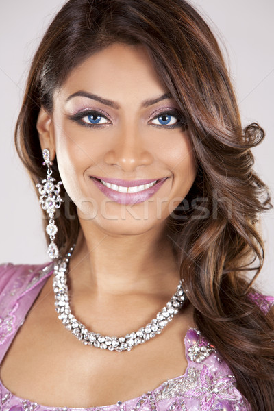 indian woman Stock photo © zdenkam