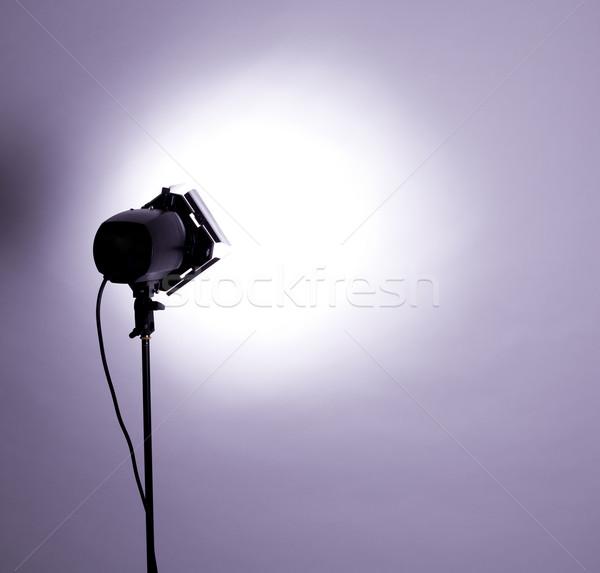 Studio lumière vide flash pourpre technologie Photo stock © zdenkam