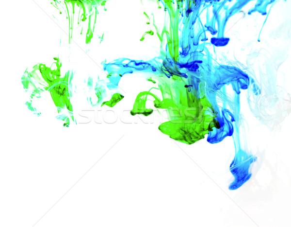 Coloré liquide art peinture eau résumé Photo stock © zdenkam