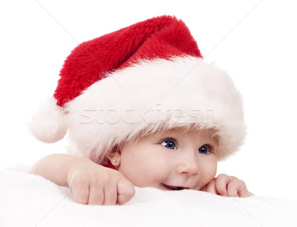 Рождества ребенка Hat Сток-фото © zdenkam