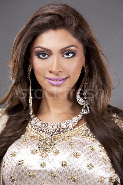 Stock photo: indian woman