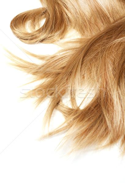 healthy hair Stock photo © zdenkam