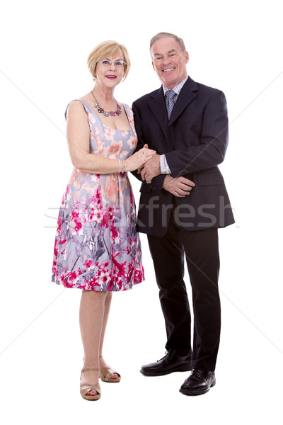 upscale caucasian couple Stock photo © zdenkam