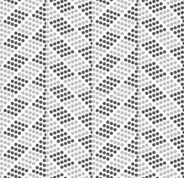 Stippel zigzag donkere licht abstract meetkundig Stockfoto © Zebra-Finch