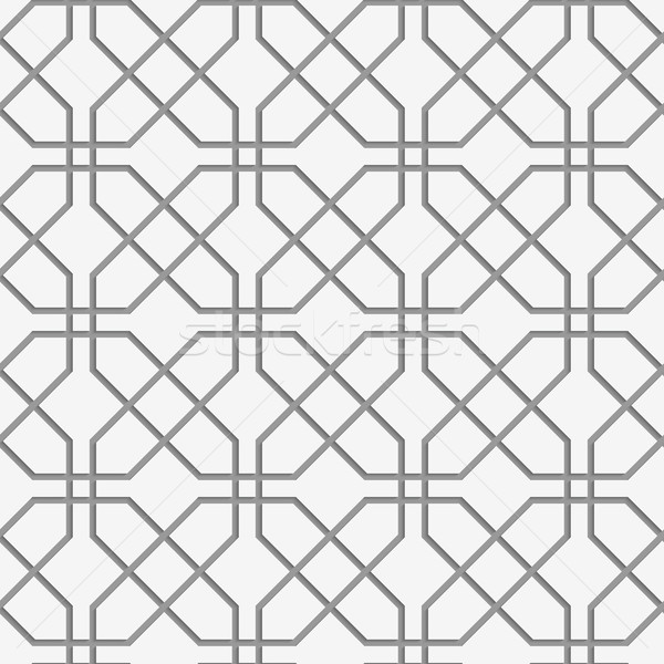 Stock photo: Perforated crossing grids