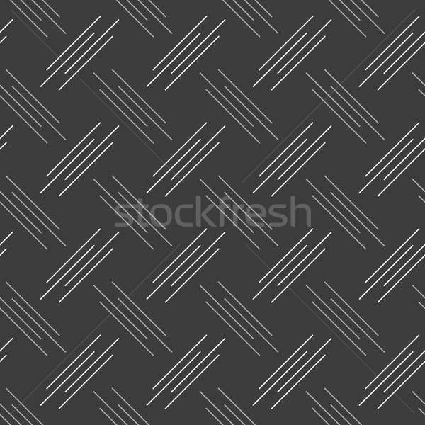 In bianco e nero pattern bianco grigio diagonale irregolare Foto d'archivio © Zebra-Finch