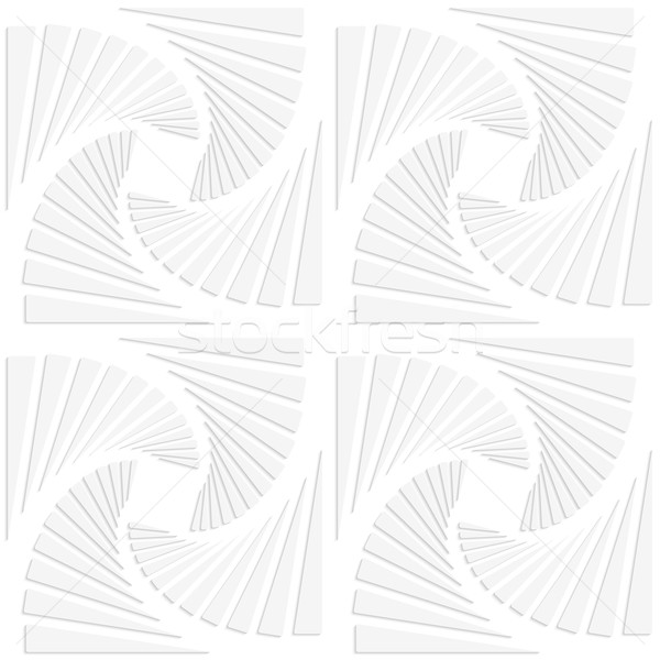 Paper white squares split and swirled Stock photo © Zebra-Finch