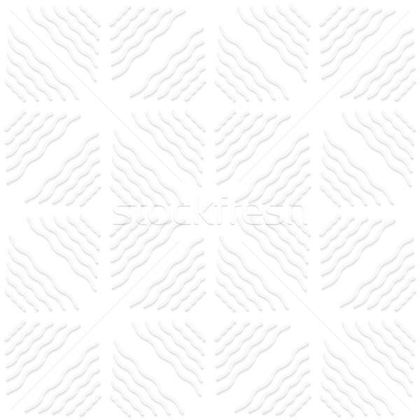 Diagonal white wavy lines pattern Stock photo © Zebra-Finch