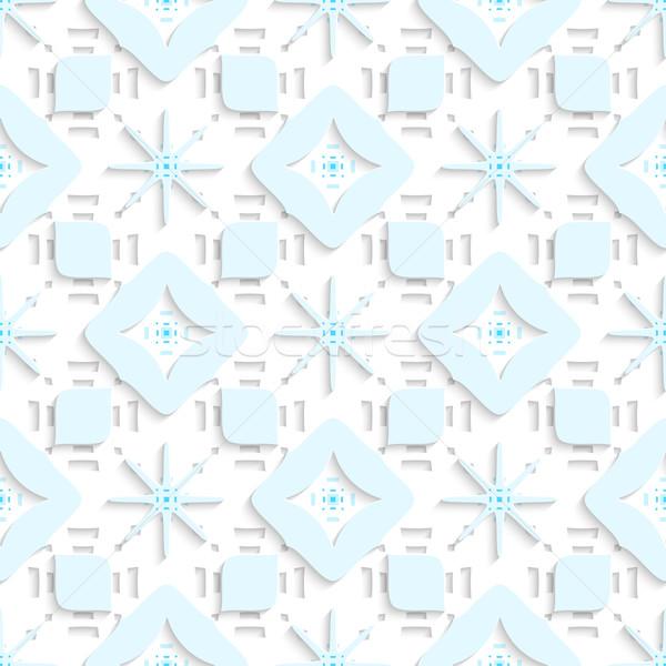 синий Top бесшовный аннотация 3D Сток-фото © Zebra-Finch