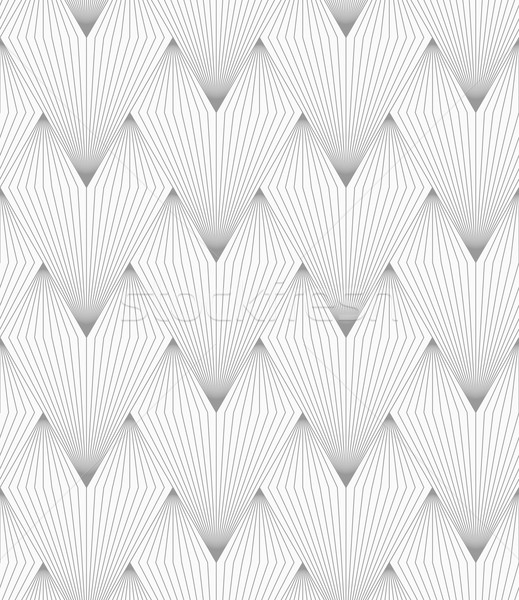 Slim gray hatched triangular shapes Stock photo © Zebra-Finch