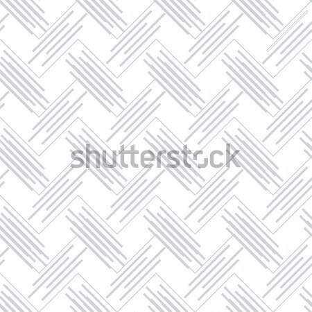 Geometrical pattern with gray beveled lines on white Stock photo © Zebra-Finch