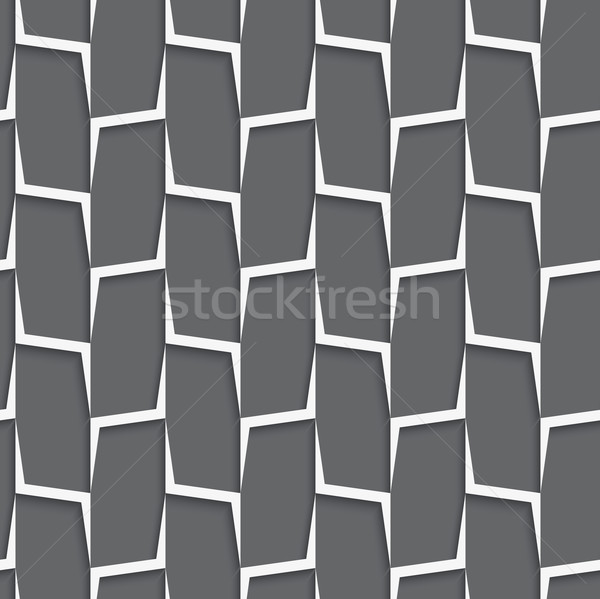 Geometrical ornament with white and gray vertical lines net Stock photo © Zebra-Finch