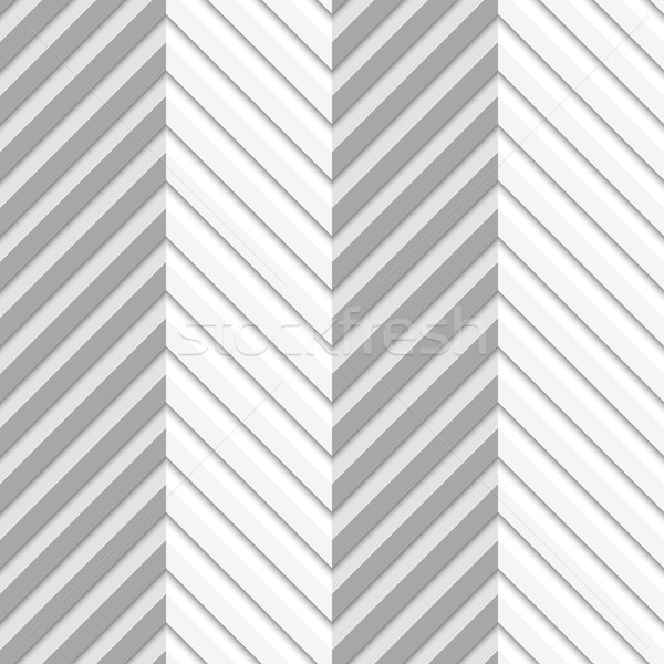Geometrical pattern with perforated zigzag lines with folds Stock photo © Zebra-Finch