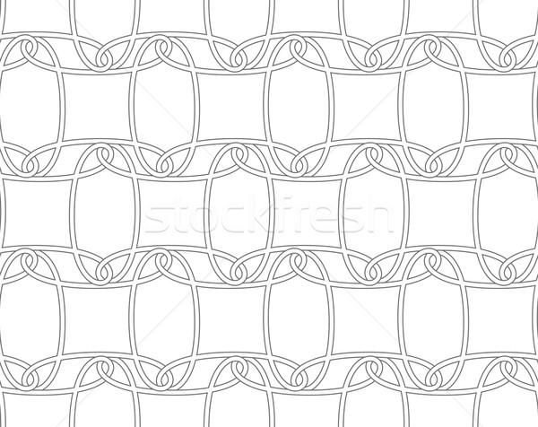 Szczupły szary poziomy ozdoba bezszwowy elegancki Zdjęcia stock © Zebra-Finch