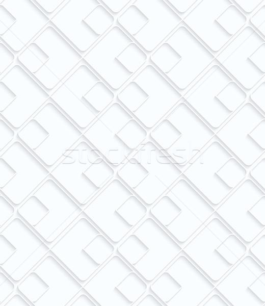 Quilling paper big and small diamonds Stock photo © Zebra-Finch