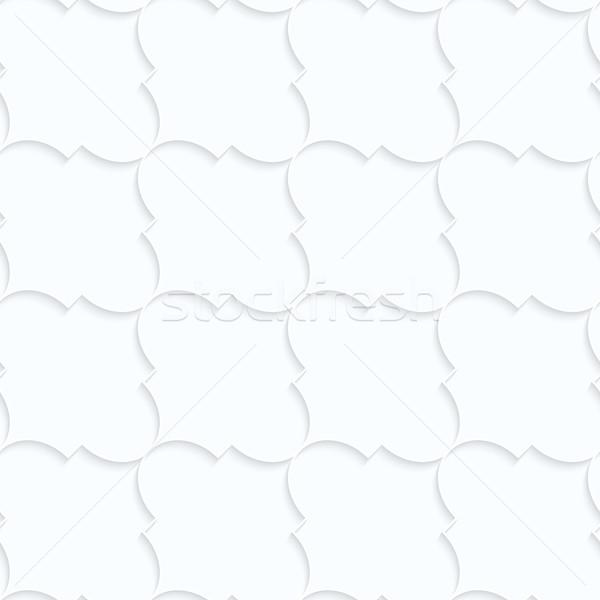 白 紙 対角線 幾何学的な 3D ストックフォト © Zebra-Finch