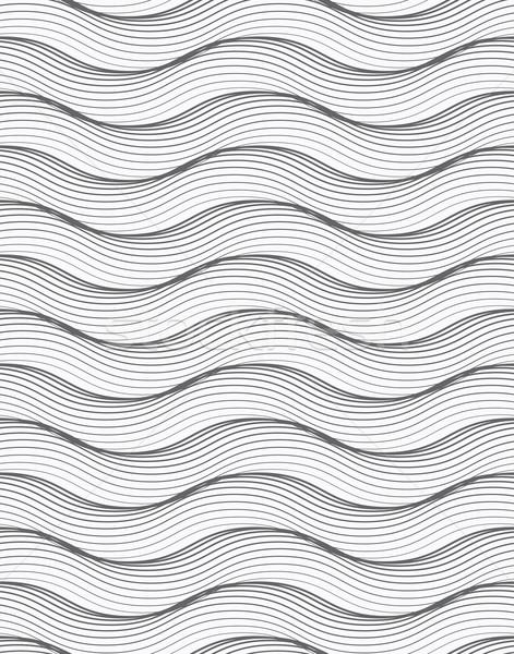 орнамент многие горизонтальный волнистый линия Сток-фото © Zebra-Finch