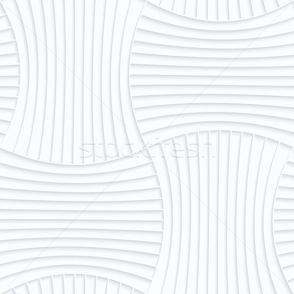 Papír alapvető csíkos tő végtelenített 3D Stock fotó © Zebra-Finch
