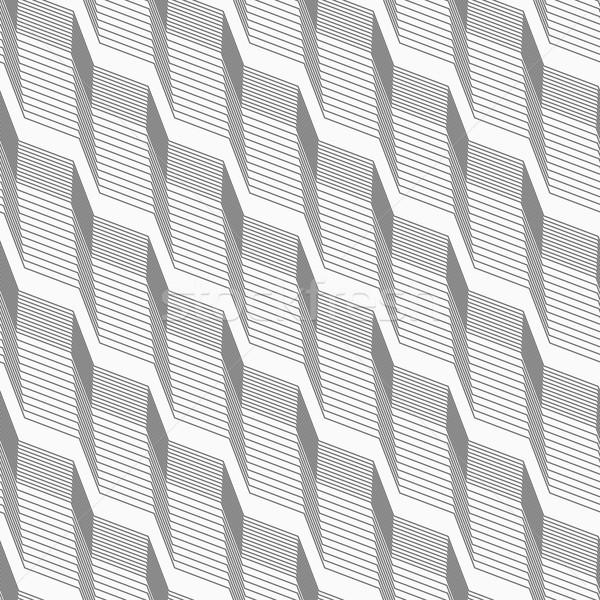 モノクロ パターン 光 暗い グレー 縞模様の ストックフォト © Zebra-Finch