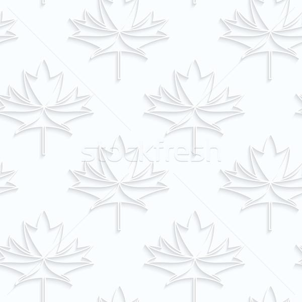 紙 メイプル 葉 静脈 幾何学的な ストックフォト © Zebra-Finch