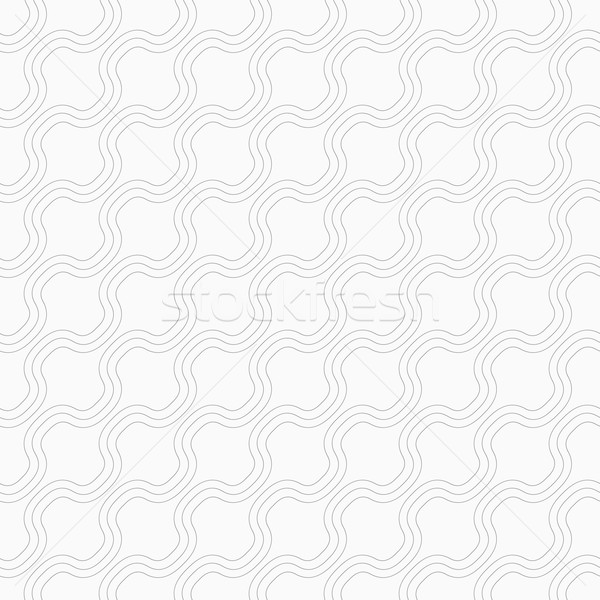 Slim gray diagonal bulging waves Stock photo © Zebra-Finch