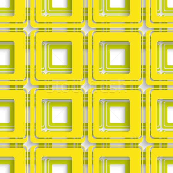 Citromsárga zöld tér absztrakt végtelenített valósághű Stock fotó © Zebra-Finch