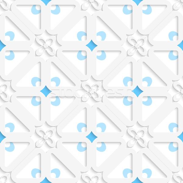 Diagonale bianco piccolo fiori blu Foto d'archivio © Zebra-Finch
