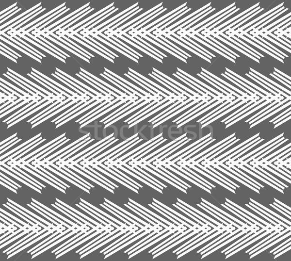 Monocromo patrón a rayas blanco oscuro gris Foto stock © Zebra-Finch