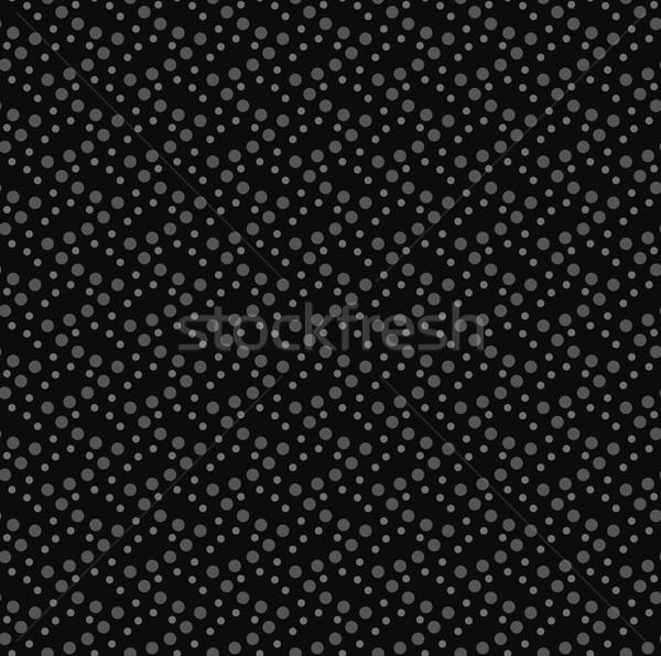 In bianco e nero pattern bianco grigio punteggiata onde Foto d'archivio © Zebra-Finch