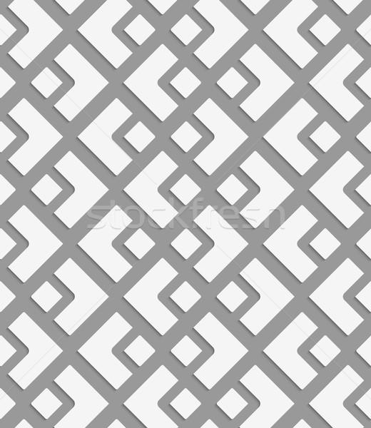 небольшой большой Diamond геометрический современных монохромный Сток-фото © Zebra-Finch
