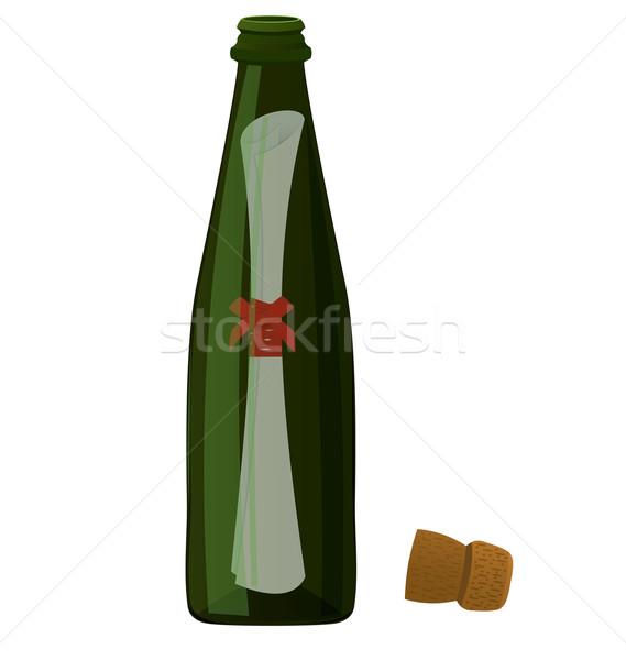 Bottle massage vector Stock photo © Zebra-Finch