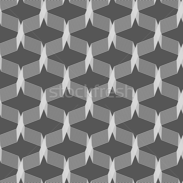 Monochrome pattern with gray intersecting thin lines Stock photo © Zebra-Finch